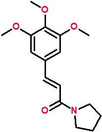 1-(3,4,5-Trimethoxycinnamoyl)pyrrolidine.png